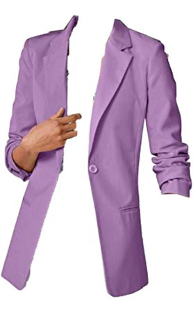 lilac women's blazer