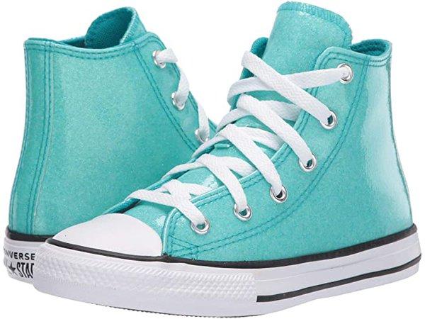 Converse Kids Chuck Taylor® All Star® Coated Glitter (Little Kid/Big Kid)   6pm
