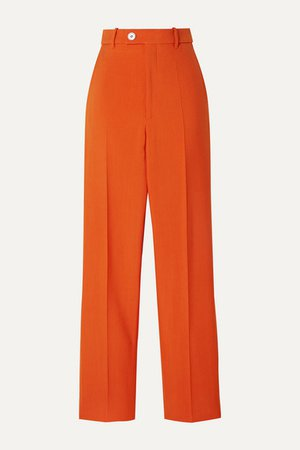Gucci | Wool-blend tapered pants | NET-A-PORTER.COM