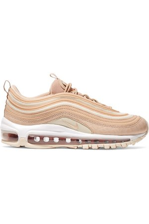 Nike   Air Max 97 LX croc-effect leather and mesh sneakers   NET-A-PORTER.COM