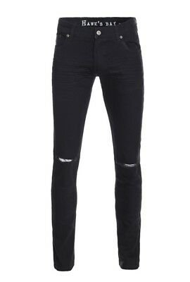 mens black ripped skinny jeans - Google Search