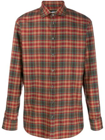 Dsquared2 check print shirt $650 - Buy Online AW19 - Quick Shipping, Price
