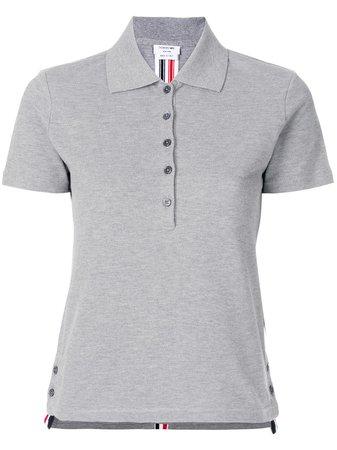 Thom Browne Side Slit Polo Shirt Aw19 | Farfetch.com