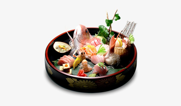 Gion Restaurant Special Sashimi And Sushi Platter - Japanese Cuisine PNG Image | Transparent PNG Free Download on SeekPNG