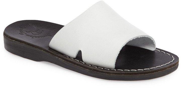Bashan Open Toe Slide