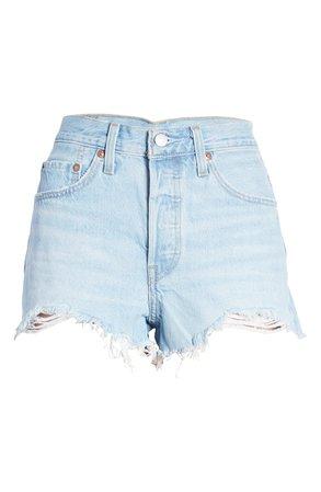 Levi's® 501® Original Cutoff Denim Shorts (Luxor Heat) | Nordstrom
