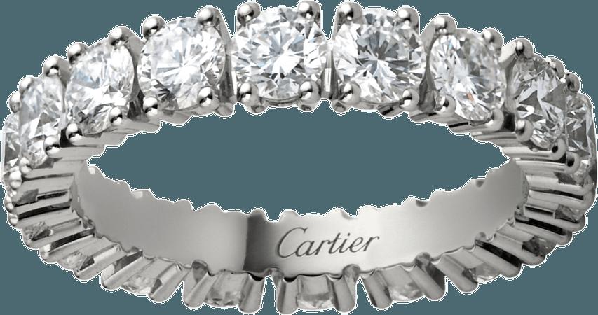 CRN4127500 - Alliance Cartier Destinée - Platine, diamants - Cartier
