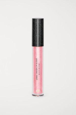 Glittery Lip Gloss - Pink