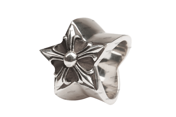 CHROME HEARTS Large Star Ring