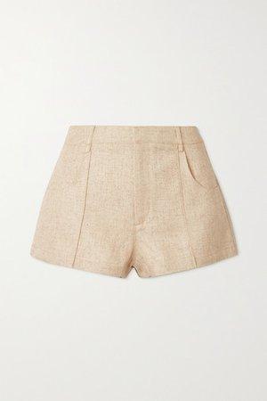 Woven Shorts - Beige