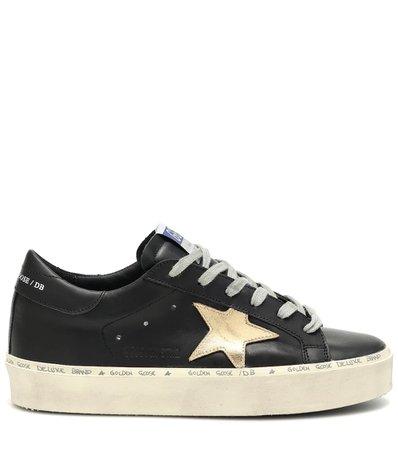 Hi Star Leather Sneakers | Golden Goose - Mytheresa