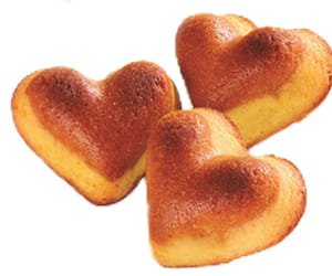 heart cakes png
