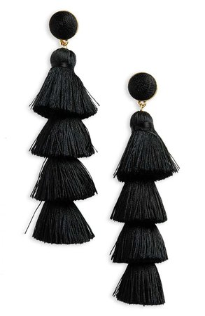 BaubleBar Gabriela Tassel Fringe Earrings | Nordstrom