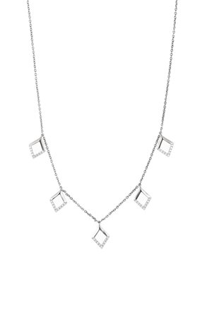 Bony Levy Kiera Diamond Shape Station Necklace (Trunk Show Exclusive) | Nordstrom