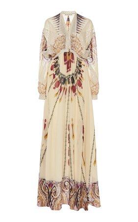 Printed Silk Maxi Dress by Etro | Moda Operandi