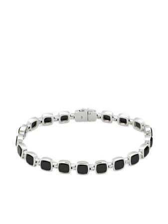 Tom Wood Bracelet Cushion à Ornements En Onyx - Farfetch