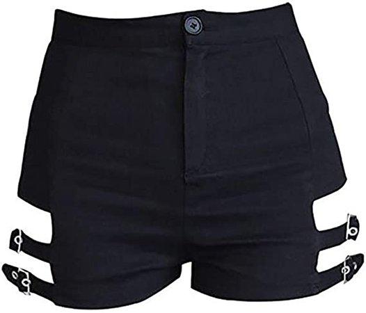 Amazon.com: YOUMU Ladies Sexy Irregular Skirt Gothic Punk Dance Clubwear Short Mini Bodycon Black : Clothing, Shoes & Jewelry