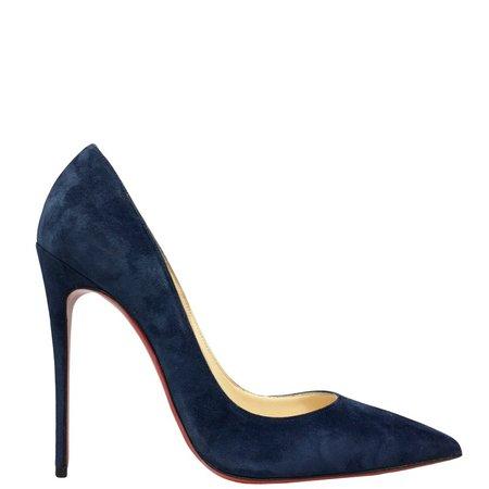 Christian Louboutin so kate velvet blue