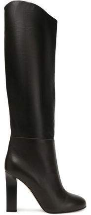 Leather Knee Boots