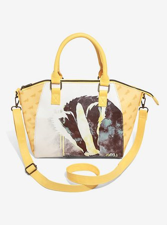 Loungefly Harry Potter Hufflepuff Satchel Bag