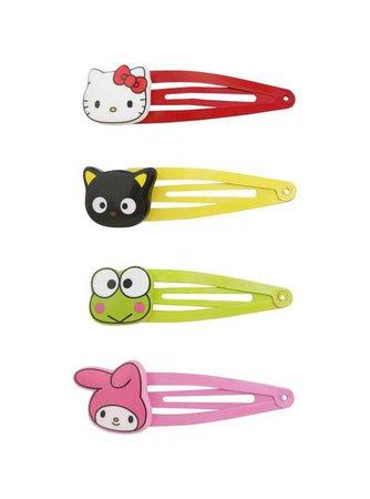 Hot TopicHello Kitty Sanrio Hair Clips