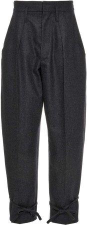 Isabel Marant Racomi High-Rise Wool Pants