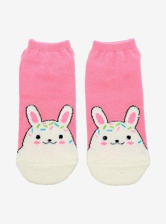 Bunny Sprinkles No-Show Socks