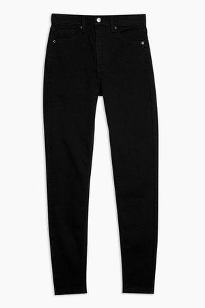 Pure Black Jamie Skinny Jeans | Topshop
