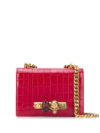 Alexander McQueen Small Jewelled Satchel - Farfetch