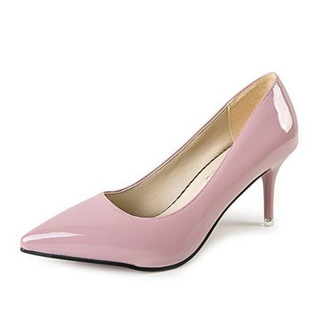 2020 Women Pumps OL Fashion Spell Color High heels Single Shoes Female Spring Summer Patent leather Wedding Party shoes Woman|Women's Pumps| - AliExpress