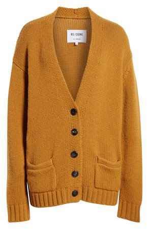 Re/Done '90s Wool & Cashmere Cardigan | Nordstrom