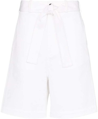 Plan C long tie waist shorts