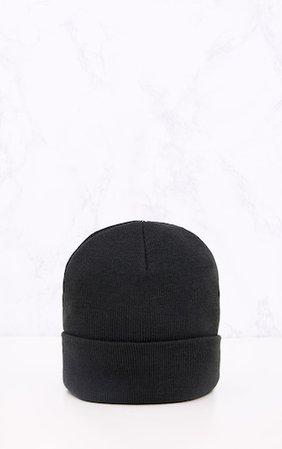 Black Beanie Hat | Accessories | PrettyLittleThing