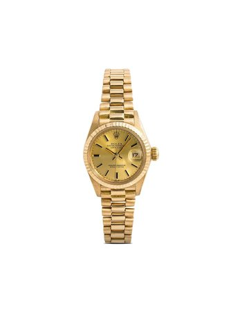 Rolex 1980s pre-owned Oyster Perpetual Datejust 26mm - Farfetch
