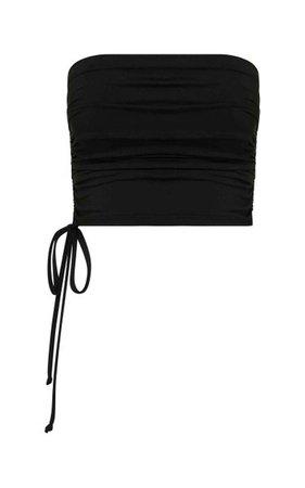 Rainey Ruched Bandeau Bikini Top By Bondi Born | Moda Operandi
