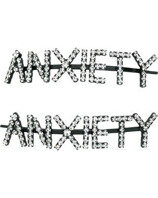 BIG Deal on Ashley Williams Anxiety hair pins - Black