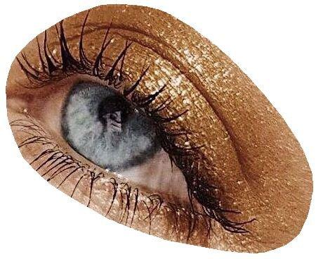 gold blue eye png filler