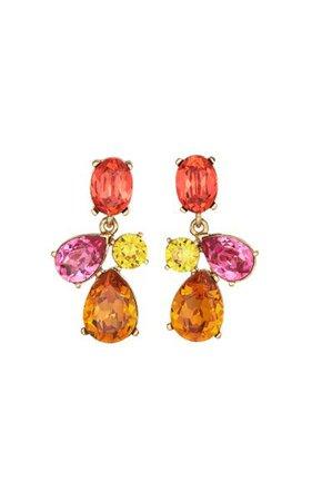14k Gold-Plated Candy Drop Earrings By Oscar De La Renta | Moda Operandi