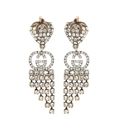 Strawberry Drop Earrings | Gucci - Mytheresa