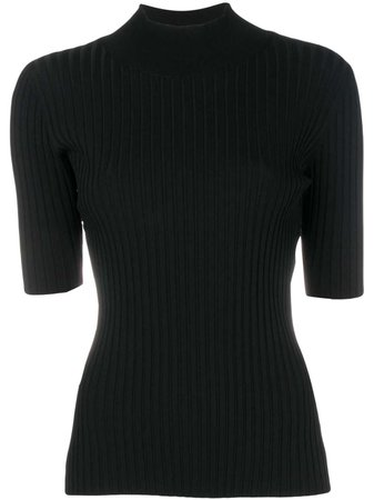 Dvf Diane Von Furstenberg Turtleneck Rib Top - Farfetch