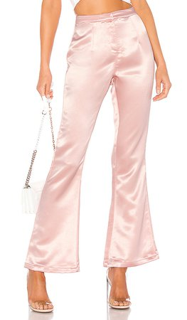 superdown Gene High Waisted Pant in Blush   REVOLVE
