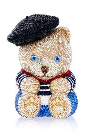 Teddy Bear Henri Crystal Clutch By Judith Leiber Couture | Moda Operandi