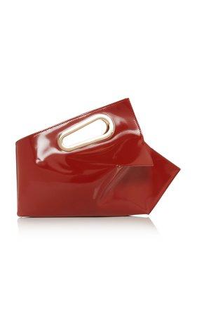 Athaarah Patent Leather Bag by Khaore   Moda Operandi