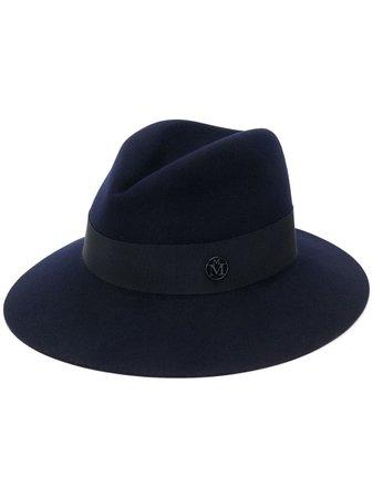 Maison Michel Kate Logo Fedora Hat Ss20 | Farfetch.com