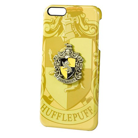 Amazon.com: Harry Potter Official Hufflepuff House Crest iPhone 6 Plus Case: Cell Phones & Accessories