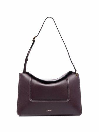 Shop Wandler Penelope leather shoulder bag with Express Delivery - FARFETCH
