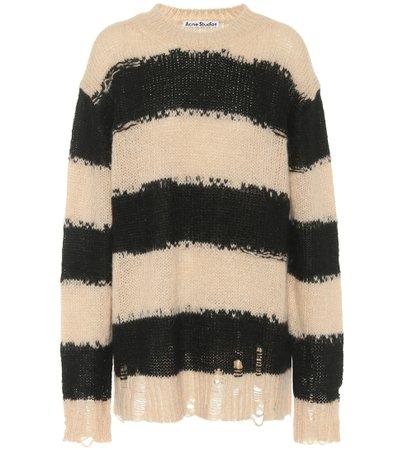 Oversized Striped Sweater | Acne Studios - Mytheresa