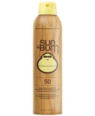 Sun Bum Sunscreen Spray SPF 50, 6-oz. & Reviews - Shop All Brands - Beauty - Macy's