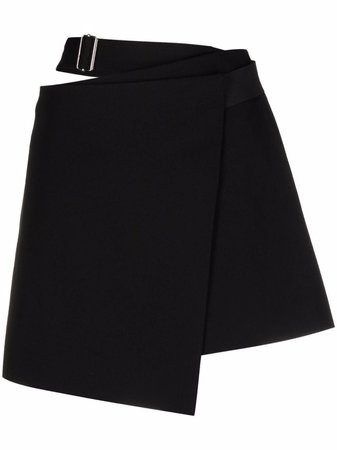 Shop Helmut Lang cut-out mini skirt with Express Delivery - FARFETCH