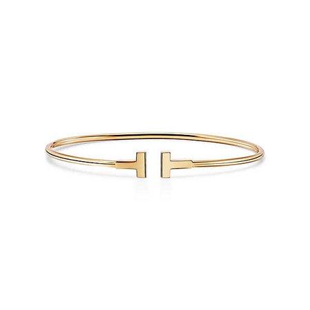 Tiffany T narrow wire bracelet | Tiffany & Co.